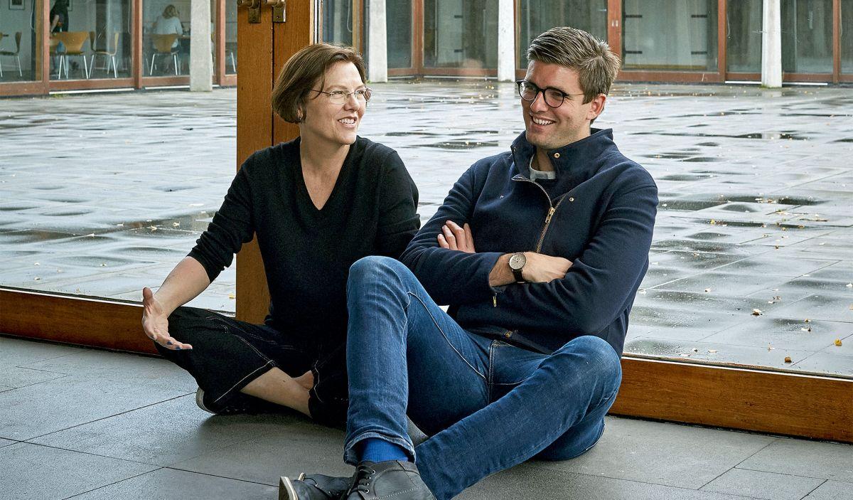 Anna Líndal and Bjarki Bragason.
