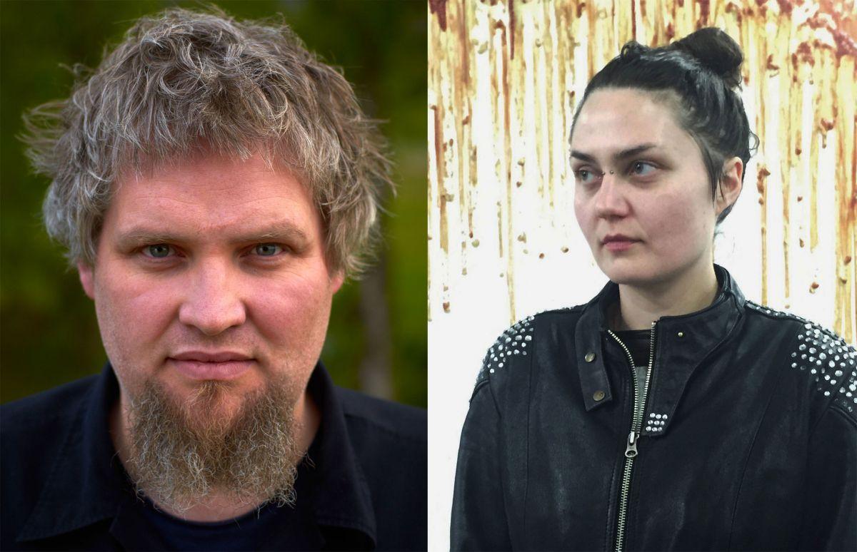 Pétur Thomsen and Steinunn Gunnlaugsdóttir
