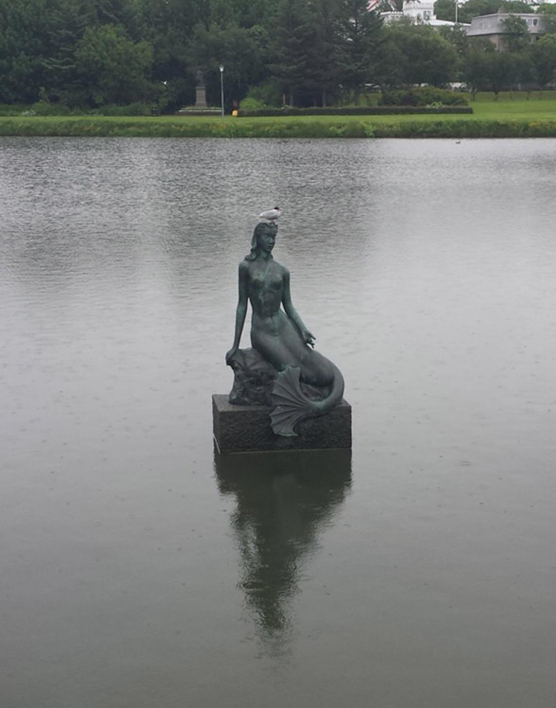 Nína Sæmundsson, Mermaid.