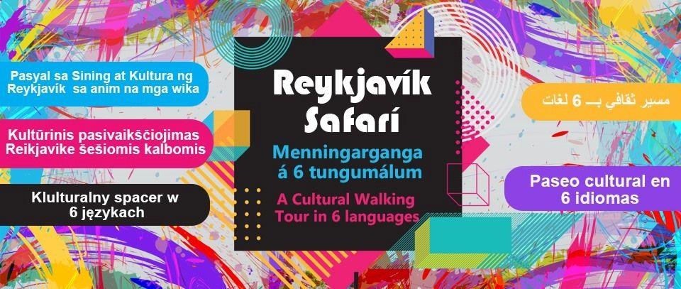Reykjavik Safari: Cultural walk in 6 languages