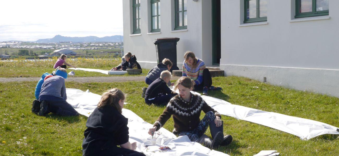 Ævintýralegar listsmiðjur í Viðe