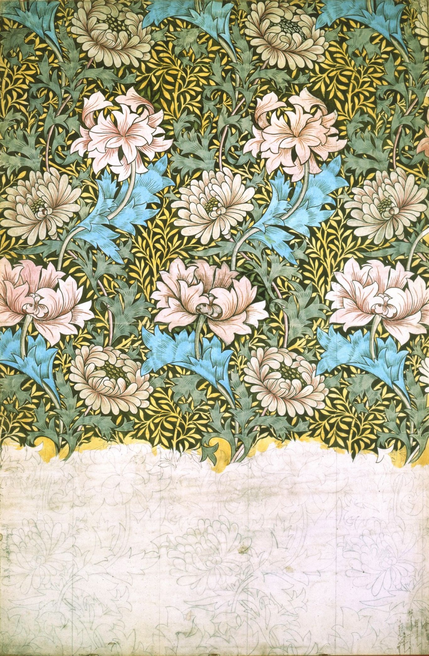 William Morris - Chrisanthemum