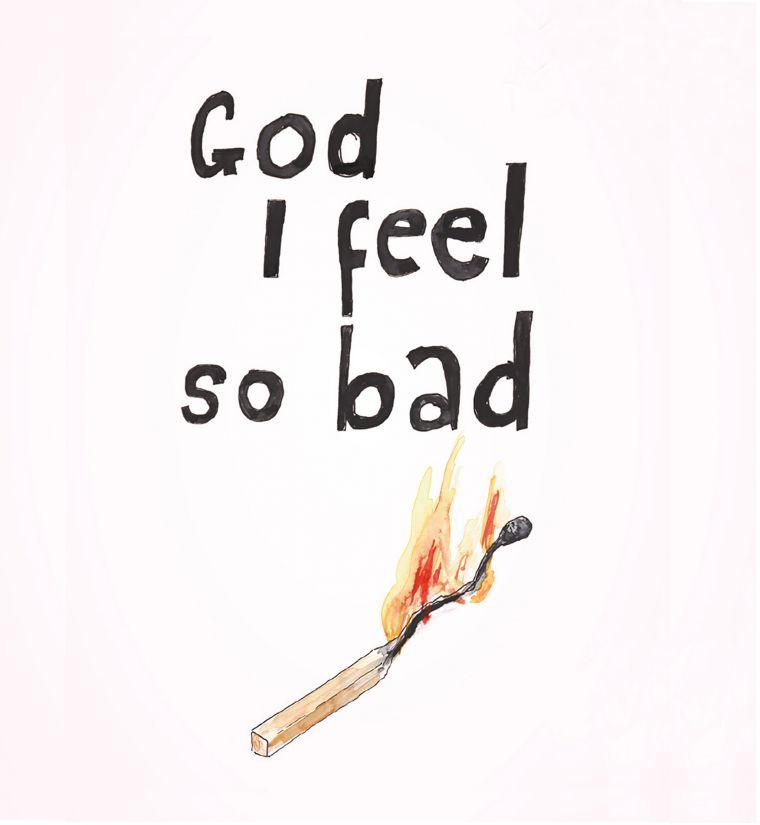 Ragnar Kjartansson: God, I Feel So Bad at Hafnarhús.