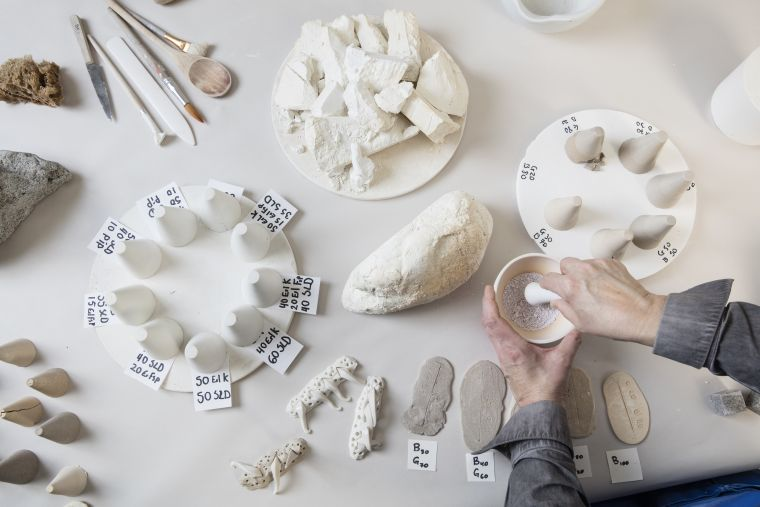 The joint project The search for Icelandic Porcelain.