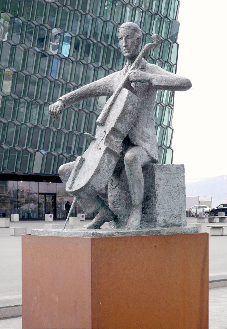 Artwork of the week: The Musician. Photo: Hildur Inga Björnsdóttir.