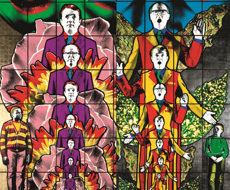 Gilbert & George: THE GREAT EXHIBITION starts 6 August