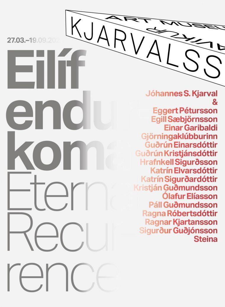 New exhibition at Kjarvalsstaðir: Eternal Recurrence
