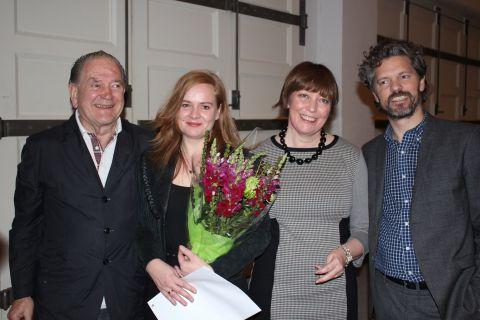 Erró, Sirra Sigrún Sigurðardóttir, Ólöf K. Sigurðardóttir og Dagur B. Eggertsson