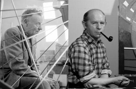 Ásmundur Sveinsson og Þorvaldur Skúlason