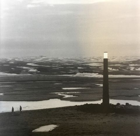 Claudio Parmiggiani, 1943, The Icelandic Lighthouse, 2000, by Sandskeið.