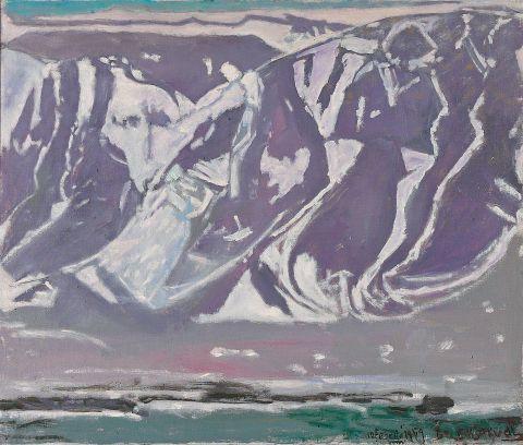 Jóhannes S. Kjarval, Esja 10. febrúar 1959.