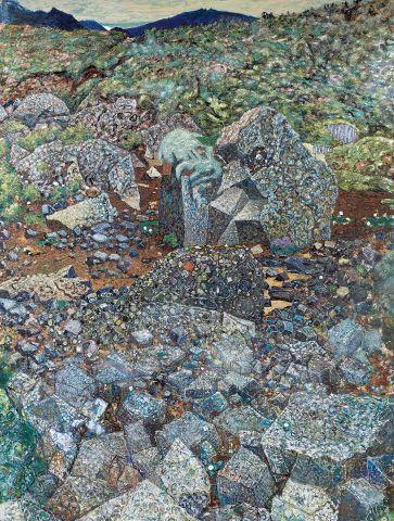 Jóhannes S. Kjarval, Mt. Skjaldbreiður (From Grafningur), 1962, oil on linen, 204x154 cm.