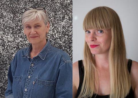 Ragna Róbertsdóttir and Hallgerður Hallgrímsdóttir