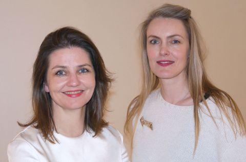 Hlín Helga Guðlaugsdóttir and María Kristín Jónsdóttir