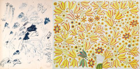 Exhibitions Opening: Jóhannes S. Kjarval: Can't Draw a Harebell and Sölvi Helgason: Floral Fantasy