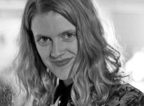 Curator Edda Halldórsdóttir.