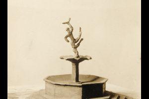 Ásmundur Sveinsson, Venus, clay sketching.