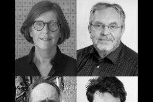 Kristín Guðnadóttir, Eiríkur Þorláksson, Pétur H. Ármannsson and Hjálmar Sveinsson.