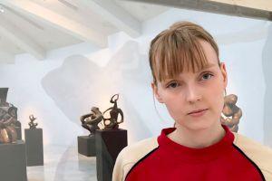 Artist Margrét Helga Sesseljudóttir. Photo: Hildur Inga Björnsdóttir.