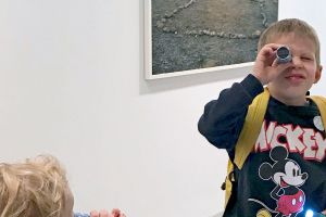 LET´S PLAY ART: Family Guidance and Gallery Talk