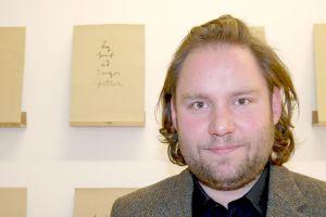 Artist Leifur Ýmir Eyjólfsson. Photo: Hildur Inga Björnsdóttir.