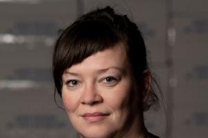 Curator Birta Guðjónsdóttir. Photo: Eyþór Árnason.