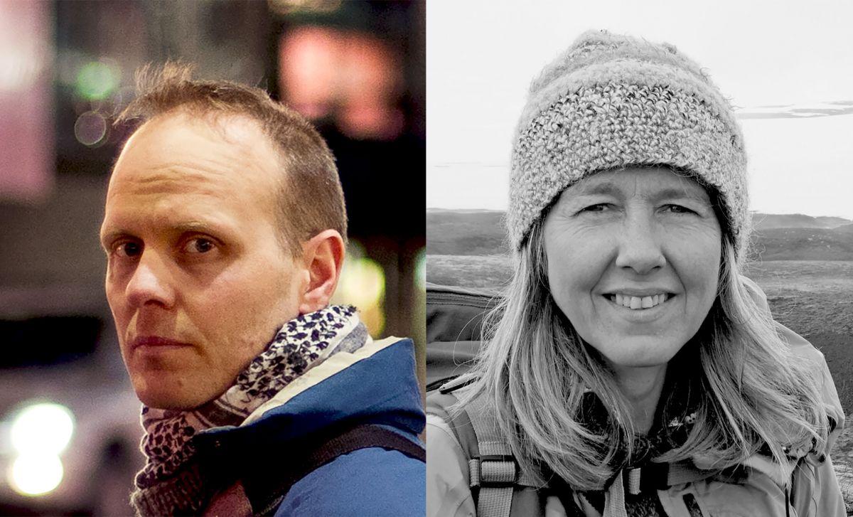Hlynur Hallsson og Ósk Vilhjálmsdóttir.