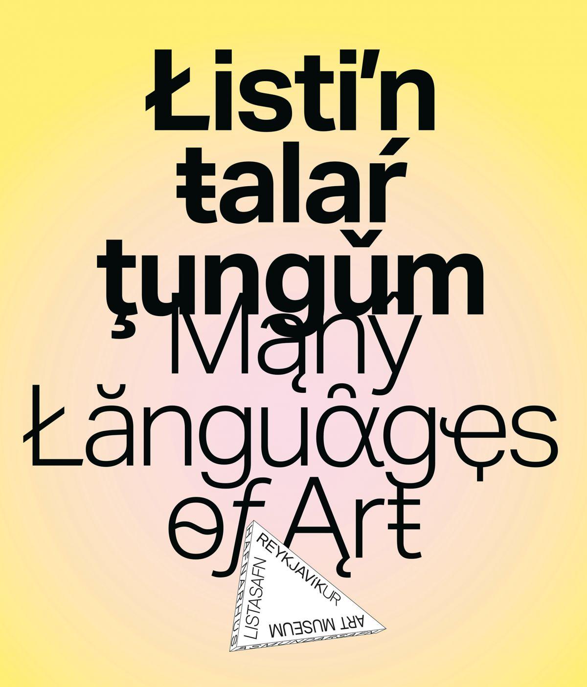 Listin talar tungum / Many Languages of Art