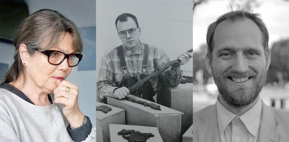 Guðrún Kristjánsdóttir, Kristinn E. Hrafnsson og Markús Þór Andrésson