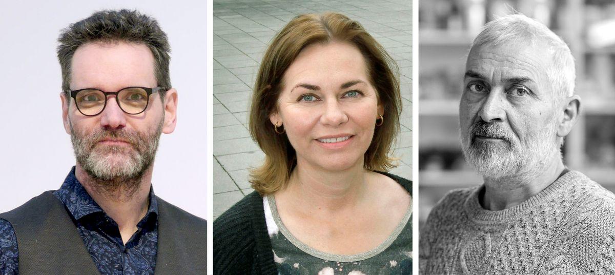 Benedikt Hjartarson, Aldís Arnardóttir og Ólafur Ingi Jónsson.