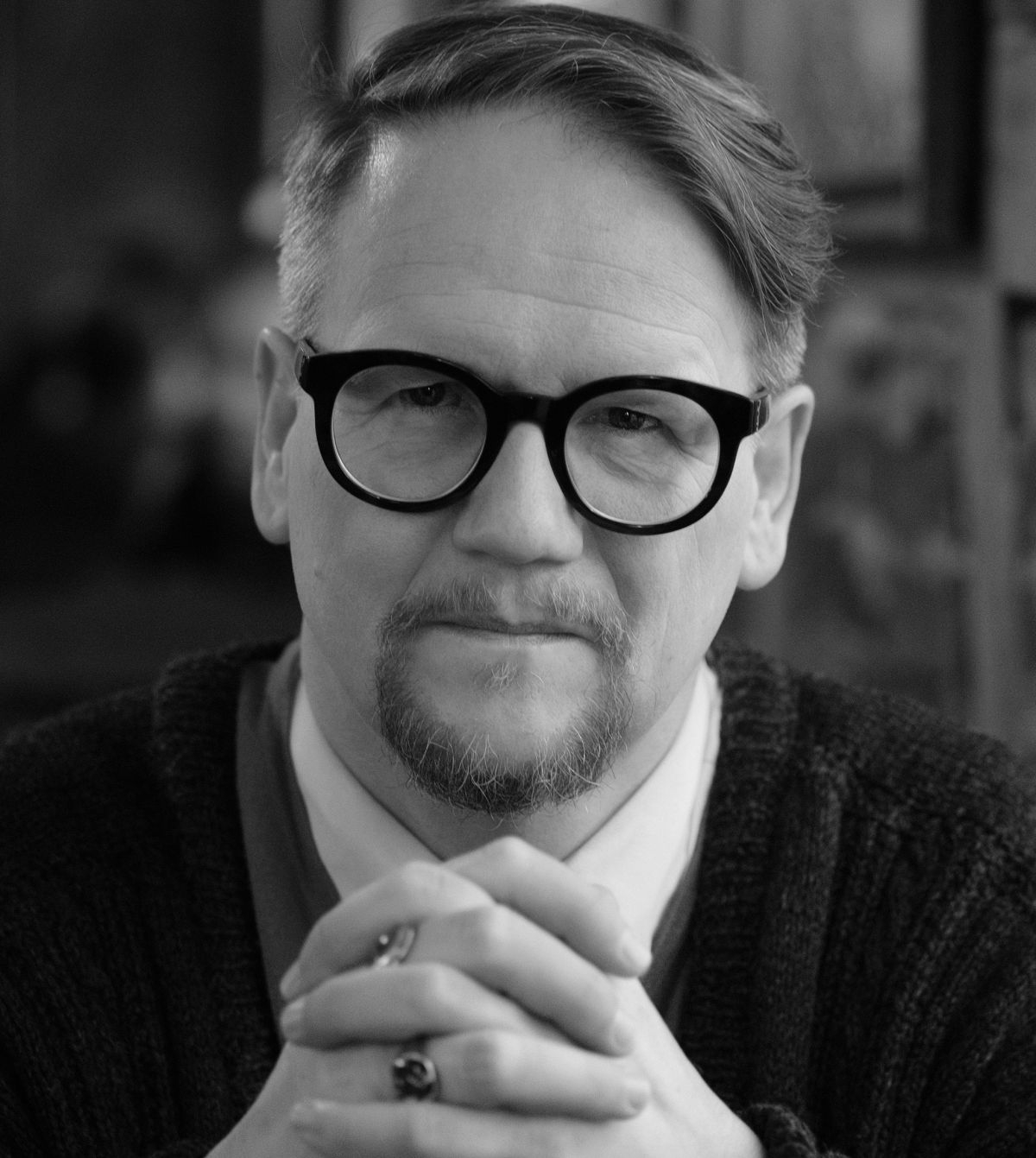 Sjón. Ljósmynd: Jóhann Páll Valdimarsson.