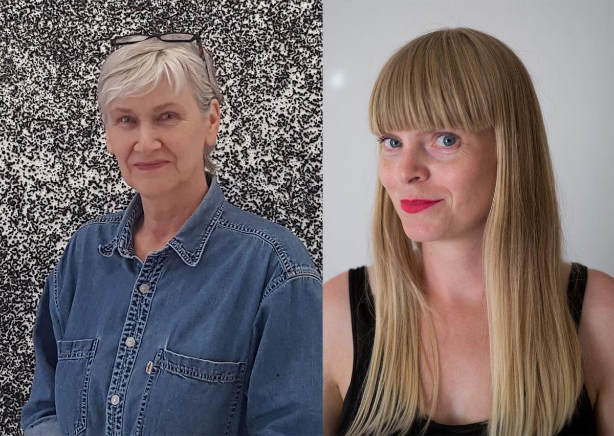 Ragna Róbertsdóttir og Hallgerður Hallgrímsdóttir