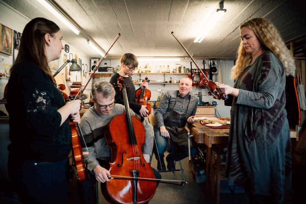 Klúbbur Listahátíðar: Jón Marinó og strokkvartettinn Siggi