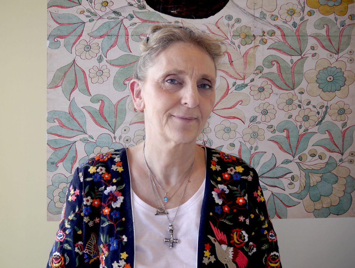 Harpa Björnsdóttir sýningarstjóri. Ljósmynd: Hildur Inga Björnsdóttir.