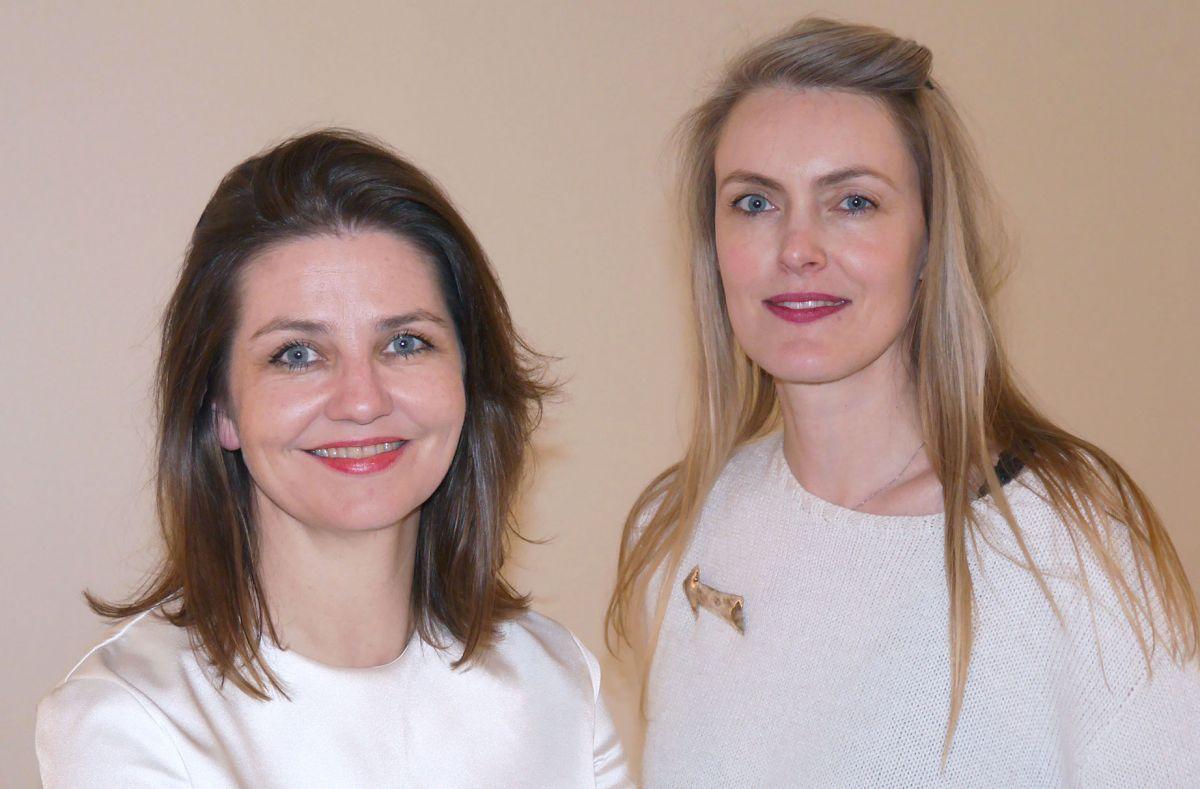 Hlín Helga Guðlaugsdóttir og María Kristín Jónsdóttir