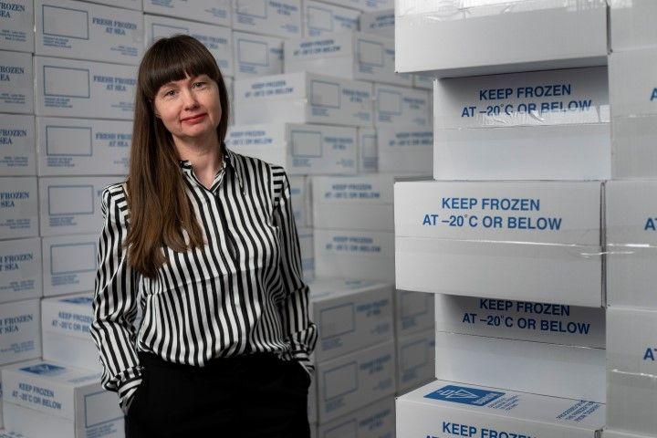 Leiðsögn listamanns og sýning myndarinnar Keep Frozen: Hulda Rós Guðnadóttir