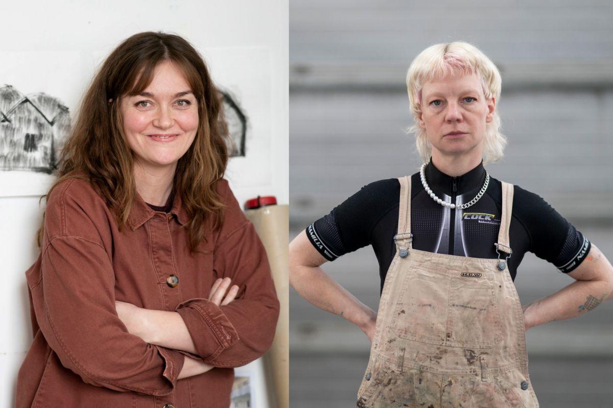 Leiðsögn listamanna: Eva Ísleifs og Rebecca Erin Moran