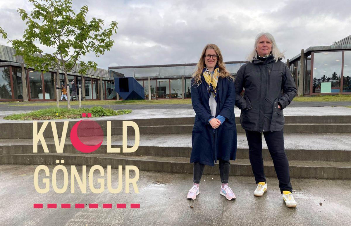 Kvöldgöngur   Leiðsögn um Klambratún – listaverk og umhverfi