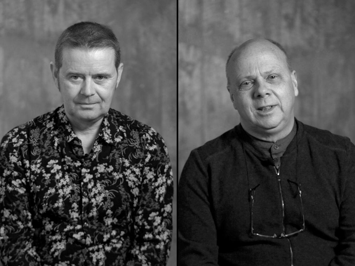Einar Garibaldi Eiríksson og Eggert Pétursson