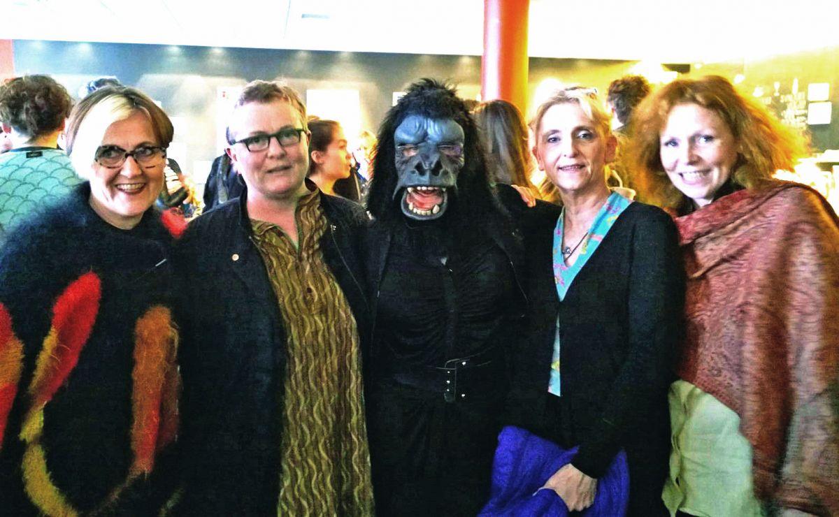 G.ERLA (Guðrún Erla Geirsdóttir), Brynhildur Þorgeirsdóttir, Harpa Björnsdóttir og Erla Þórarinsdóttir