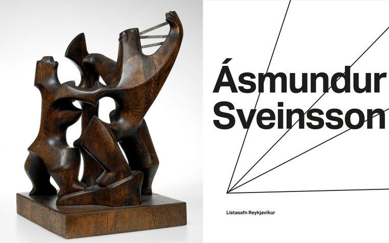 Ásmundur Sveinsson, Höfuðlausn, 1948, og bókin Ásmundur Sveinsson.