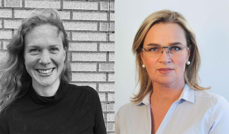Aldís Snorradóttir og Ingibjörg Hannesdóttir.