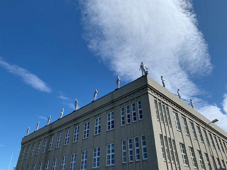 Sýningaropnun við Arnarhvol Steinunn Þórarinsdóttir: Tákn