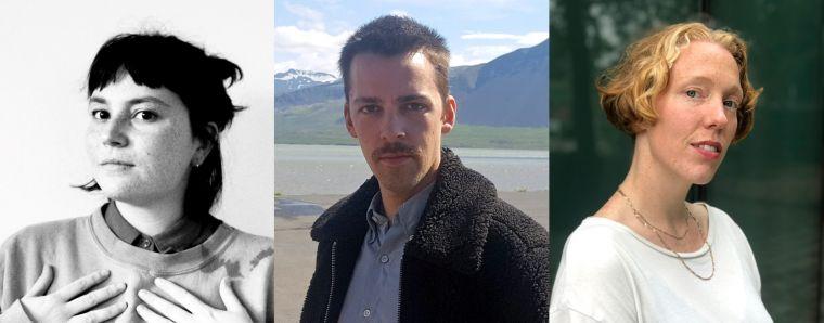 Claire Paugam, Baldvin Einarsson og Ásgerður Birna Björnsdóttir