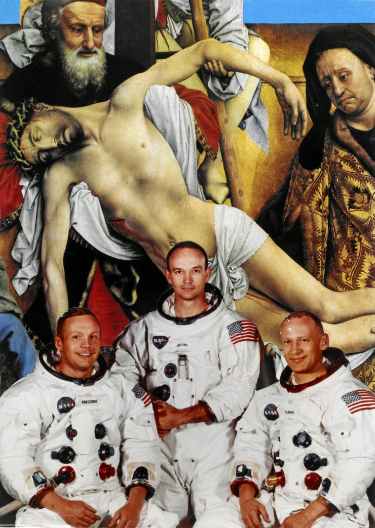 Erró: Apollo Crew, 2009