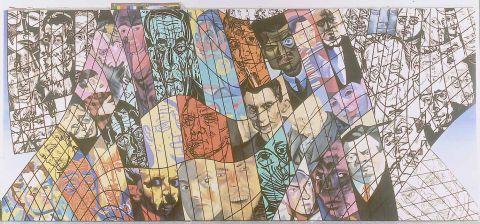 Erró, Portraits d'Expressionnistes, 1992