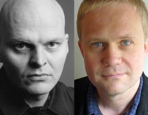 Hallgrímur Helgason og Kristján Þórður Hrafnsson