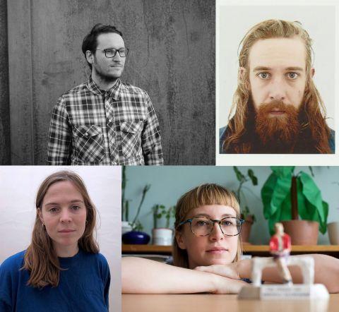 Klængur Gunnarsson, Andreas Brunner, Una Björg Magnúsdóttir og Auður Lóa Guðnadóttir