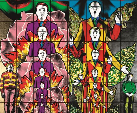 Gilbert & George: THE GREAT EXHIBITION hefst 6. ágúst