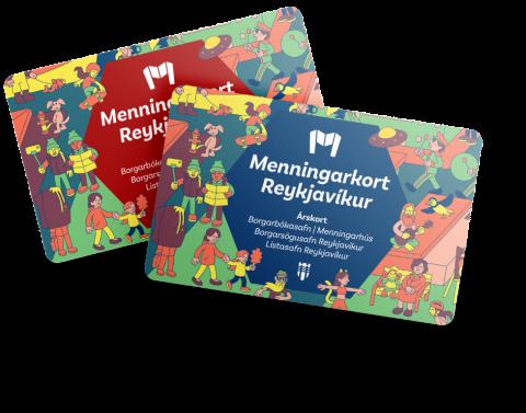 Menningarkort Reykjavíkur